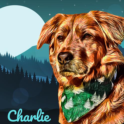 Postcard- #8 Charlie