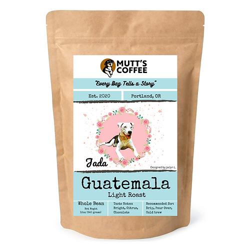 Coffee-Guatemala Light Roast (1 Bag Option, Shipping & Local Delivery Included)