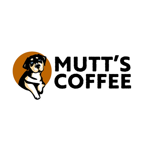 Mutt's Coffee Sticker