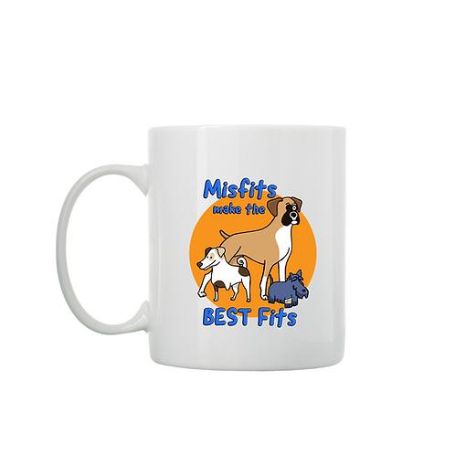 Misfits Make the BEST Fits Coffee Mug