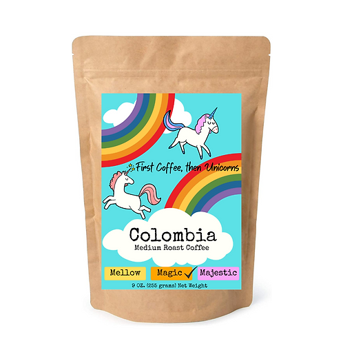 Coffee- Friendship Collection- Unicorn Coffee Cover Art