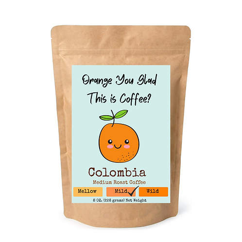 Coffee- Friendship Collection- Orange Coffee Cover Art