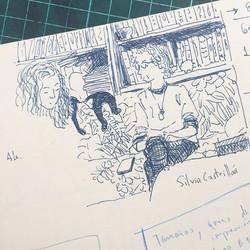 Sketchbook meetings 🖊📓