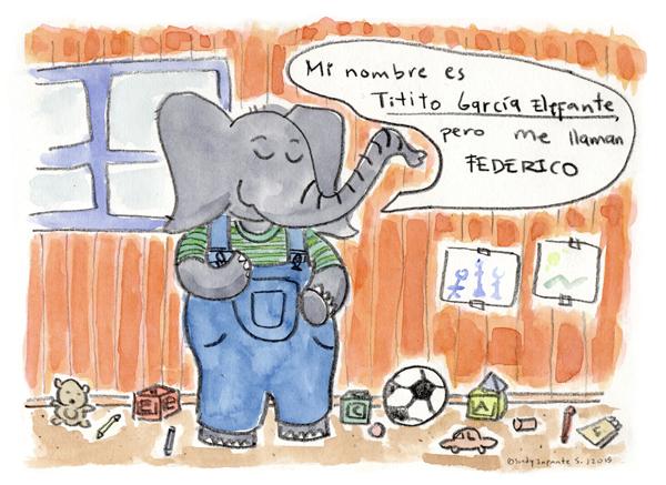 Elephant Federico