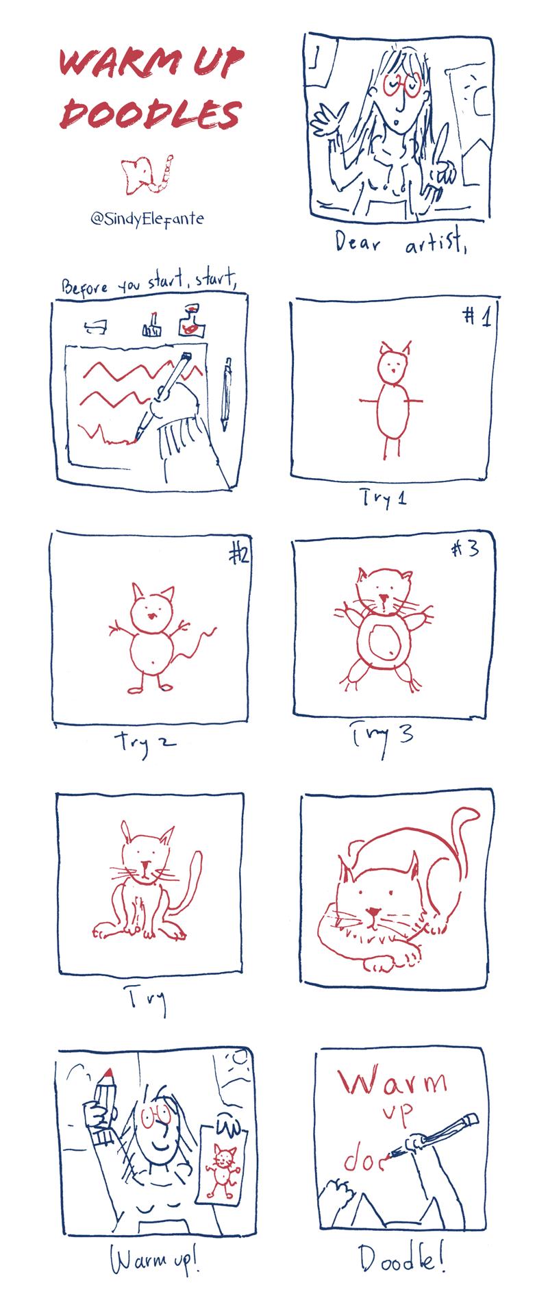 Warm Up Doodles