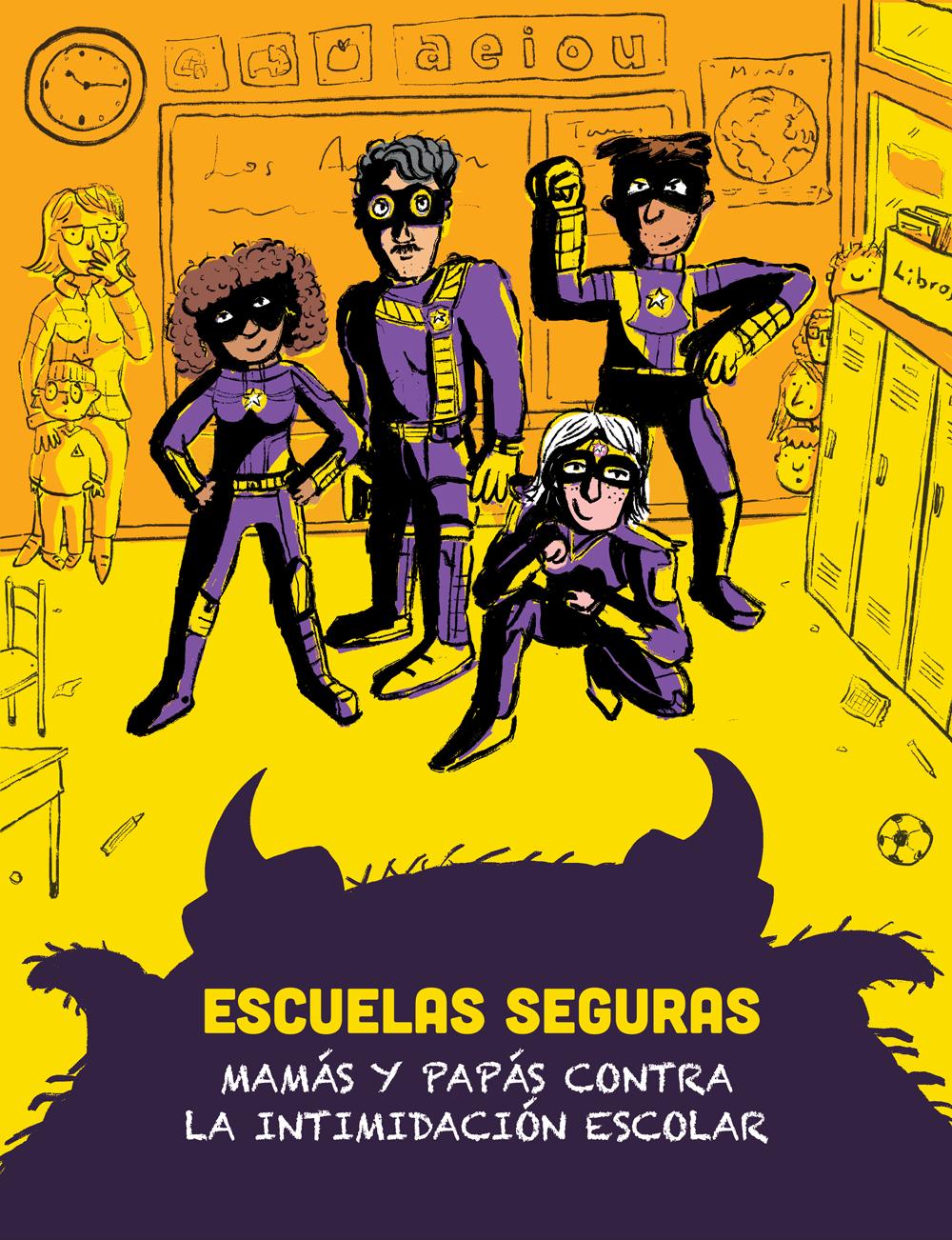 Poster Escuelas Seguras