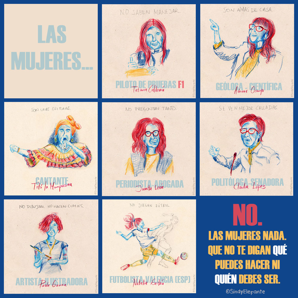 Collage Mujeres
