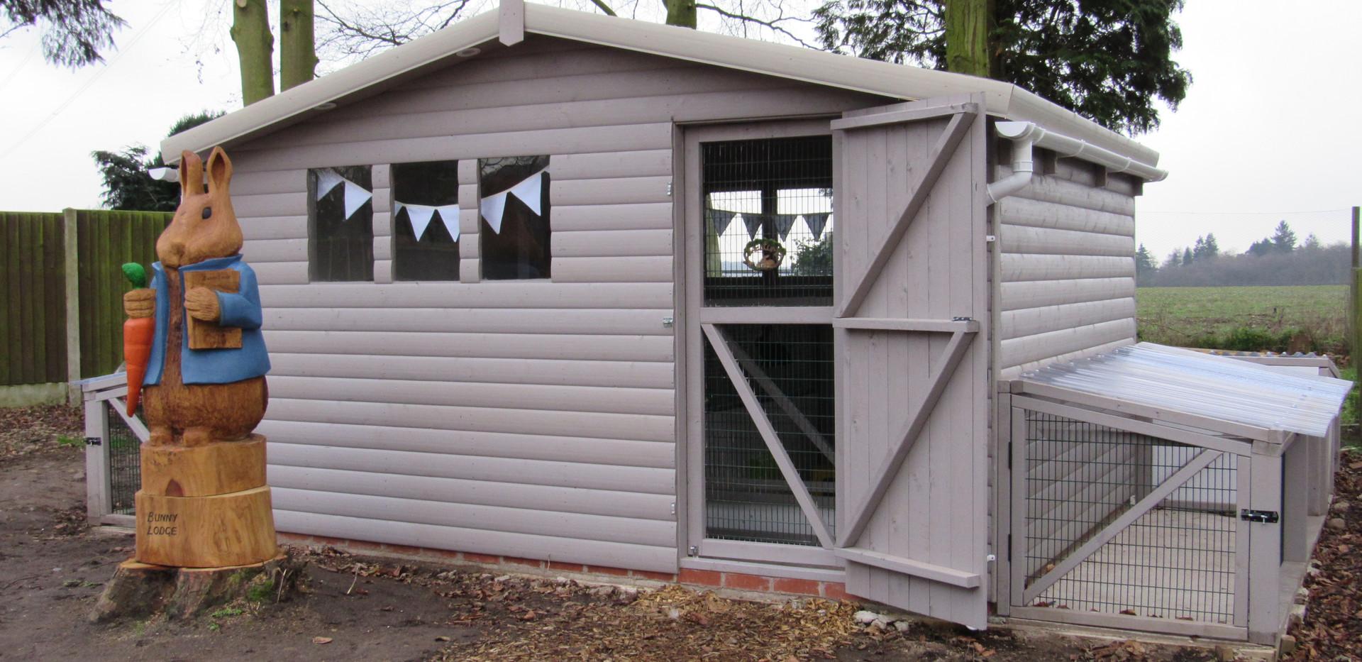 Bunny Lodge Exterior
