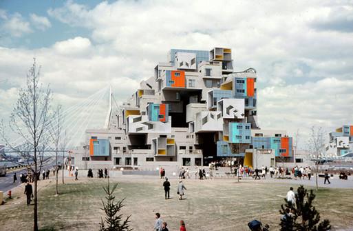 Collage Habitat 67 - Rotterdam