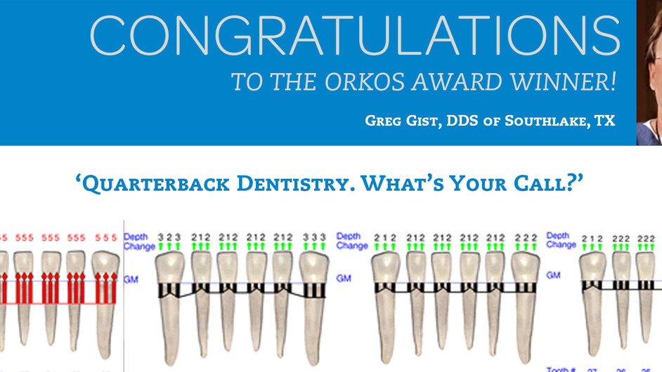 January 2015 Award Winner - Dr. Greg Gist