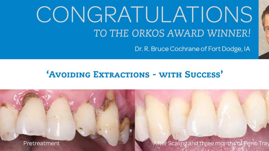 December 2016 Award Winner - Dr. R. Bruce Cochrane