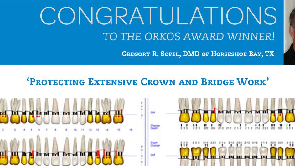July 2012 Award Winner - Dr. Gregory R. Sopel