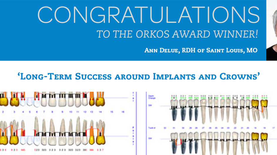 May 2012 Award Winner - Ann Delue RDH