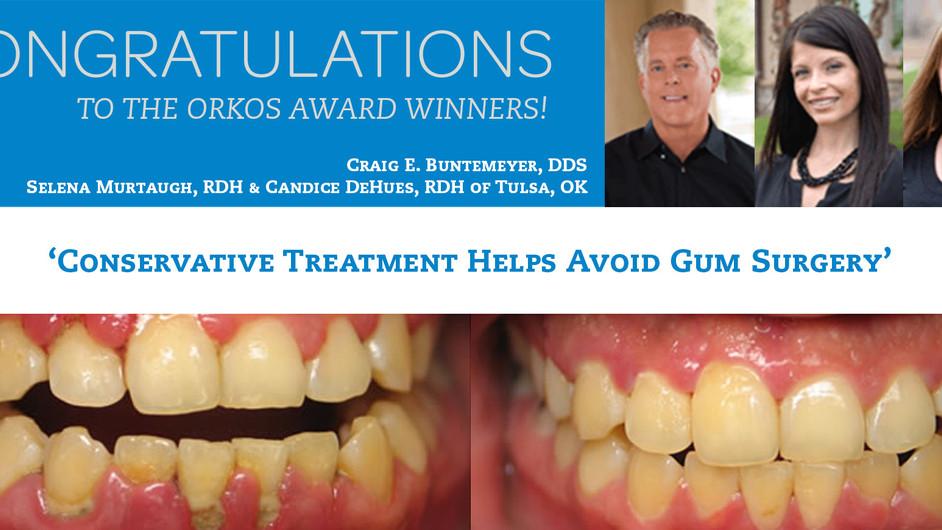 March 2013 Award Winners - Dr. Craig E. Buntemeyer & Selena Murtaugh RDH & Candice DeHues RD