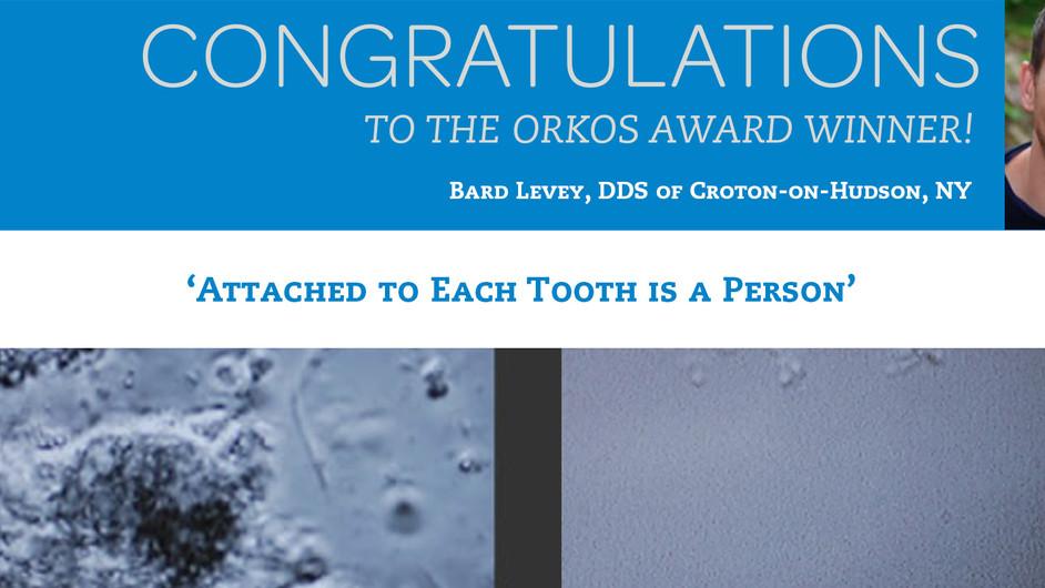 October 2014 Award Winner - Dr. Bard Levey