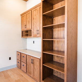227th Place Study Built-ins