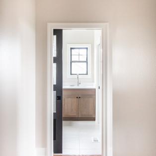 5438 Windrose Spec Laundry Room Glass Pocket Door
