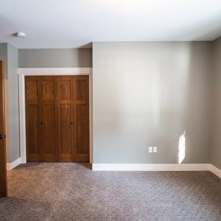 227th Place Basement Bedroom
