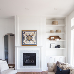 2019 P.O.H. Fireplace and Shelves