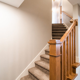 227th Place Basement Stairway