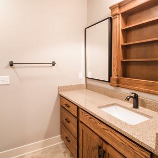 227th Place Basement Bath