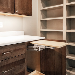 650th Avenue Pantry Cabinet Feature_Mixer Swing Out Shelf