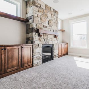 Aldrin Avenue Living Room Fireplace
