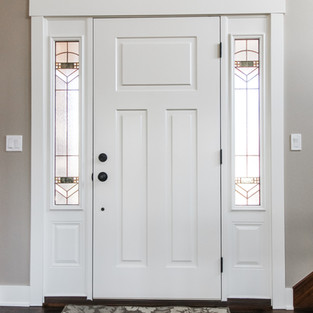 Aldrin Avenue Interior Front Door
