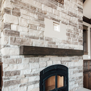 650th Avenue Living Room Fireplace