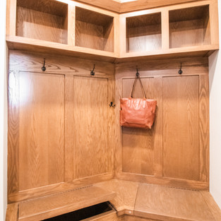 227th Place Mudroom Bench