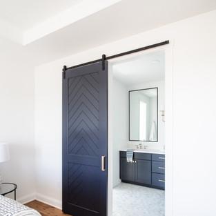 2019 P.O.H. Master Bath Custom Barn Door