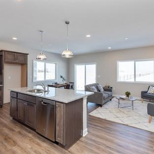 927 Henryson Kitchen & Living Room