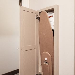 650th Avenue Laundry Room_Hidden Ironing Borad Open