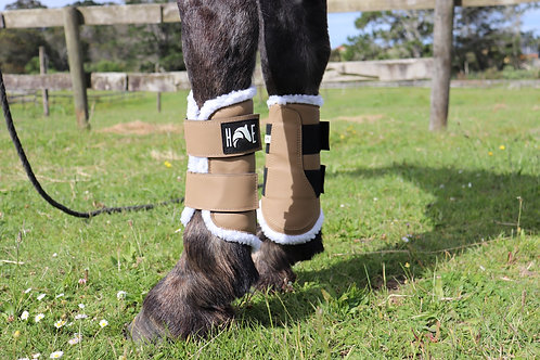Iced Coffee Brushing Boots