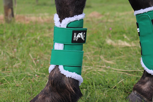 Forest Green Brushing boots