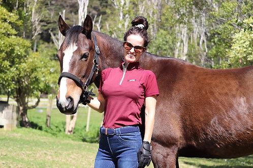 Burgundy Riding/Show Shirt