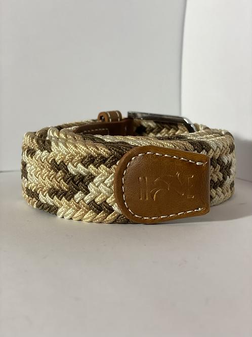 Brown toned Elastic Belt