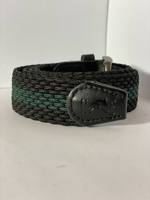 Black & Green Elastic Belt