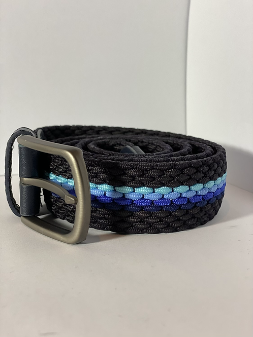 Blue 5 tone Elastic Belt