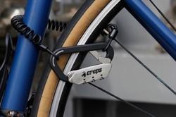 自転車のロックとして