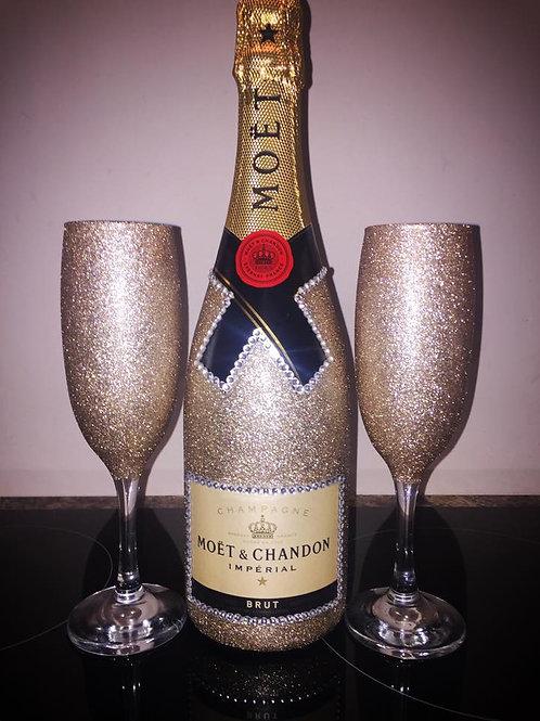 Moet Champagne Set