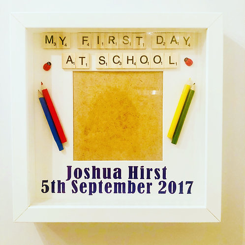 Personalised First Day at School/Nursery Photo Frame