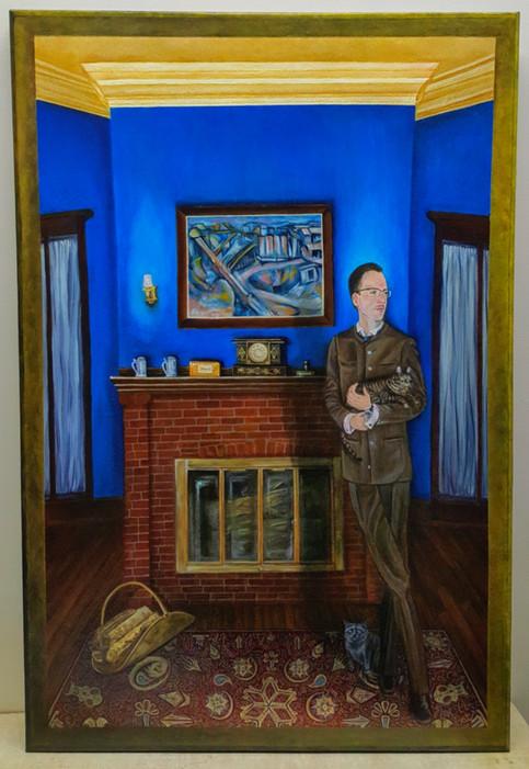 The Illustrative Giles Edwards- Oil