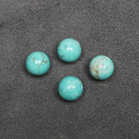 Howlite, Turquoise Colored