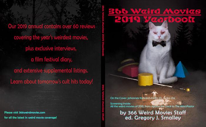 366 Weird Movies Hard Cover '19