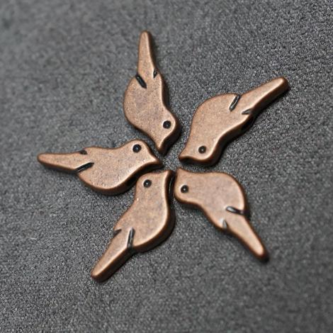 Copper, Bird (plated)