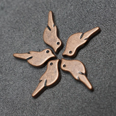 Copper, Bird (plated)
