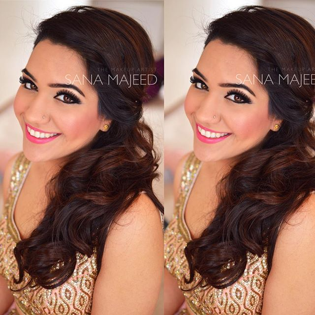 Loved this hair and makeup look on chanchal from a little while ago