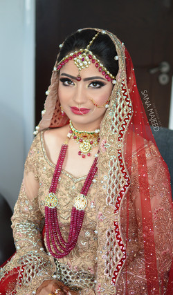 Pakistani bridal look
