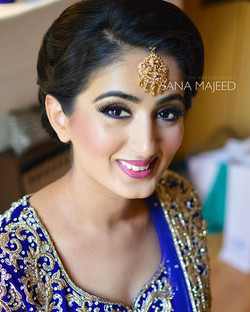 Beautiful Zahra on her Wedding day, was more then pleased she chose me to do her hair and makeup for